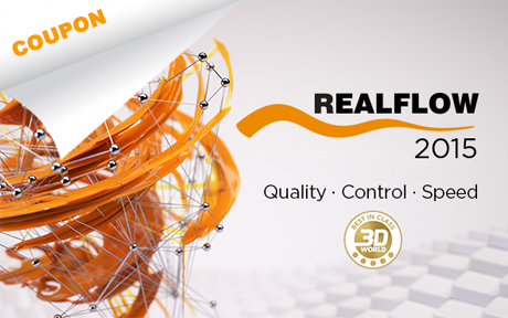Get 5% off RealFlow and Maxwell Render