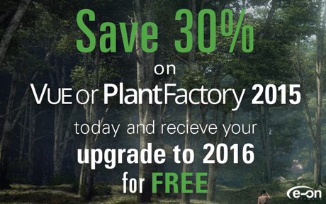 Save 30% on select e-on software products