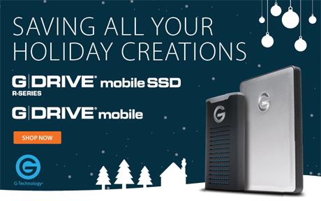 Holiday Savings on G-DRIVE Mobile