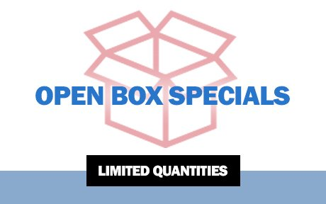 Open box and clearance items